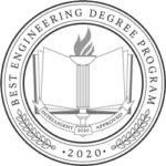 Best Engineering Degree Program 2020 Badge