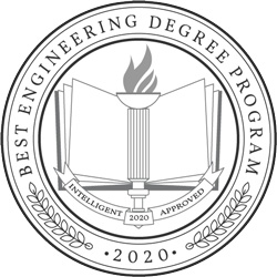 Best Engineering Degree Program 2020 Badge