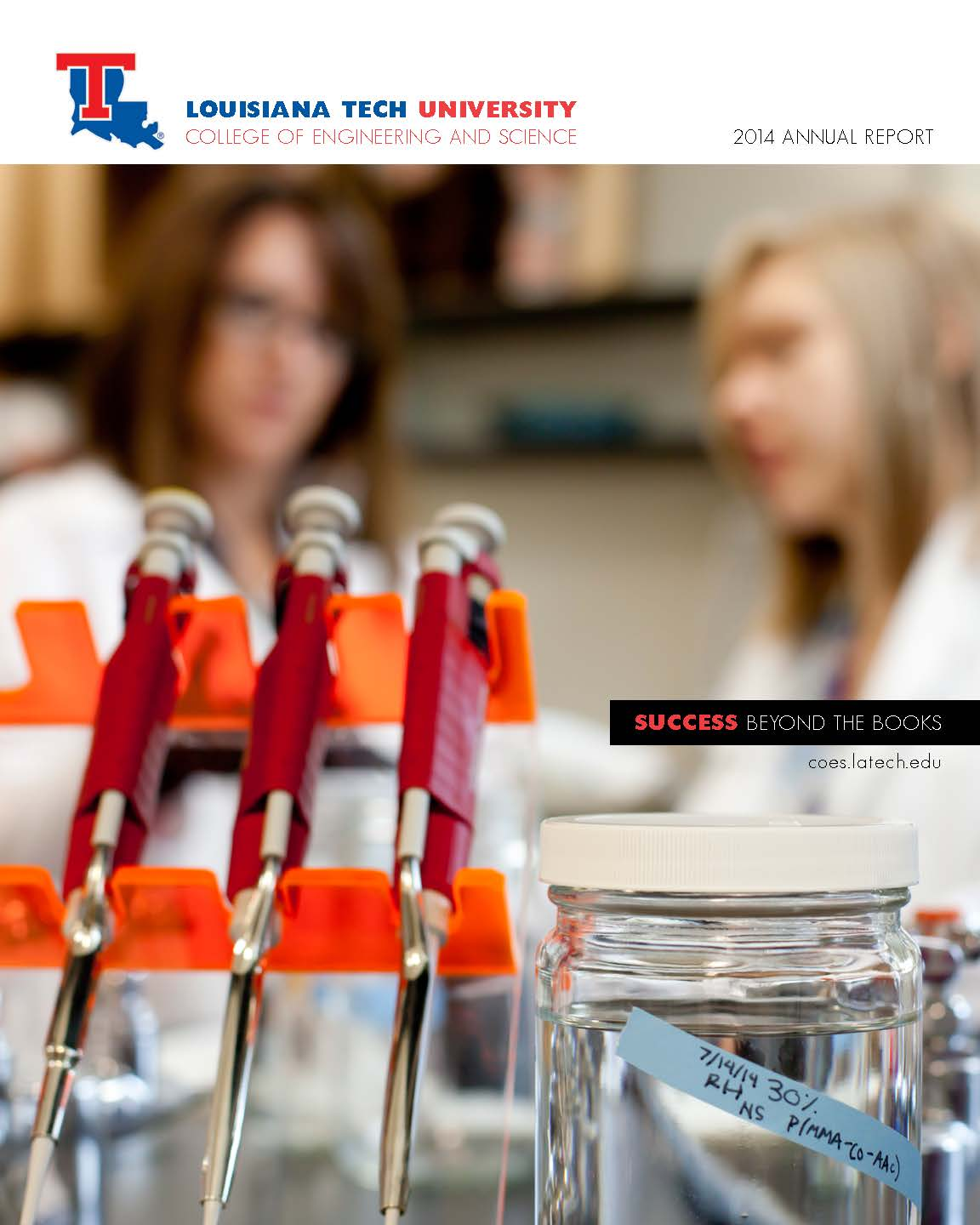 Louisiana Tech University College of Engineering and Science Annual Report 2014