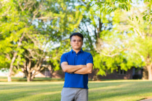 Photo of Wenjing Xu at Louisiana Tech's South Campus - Ruston