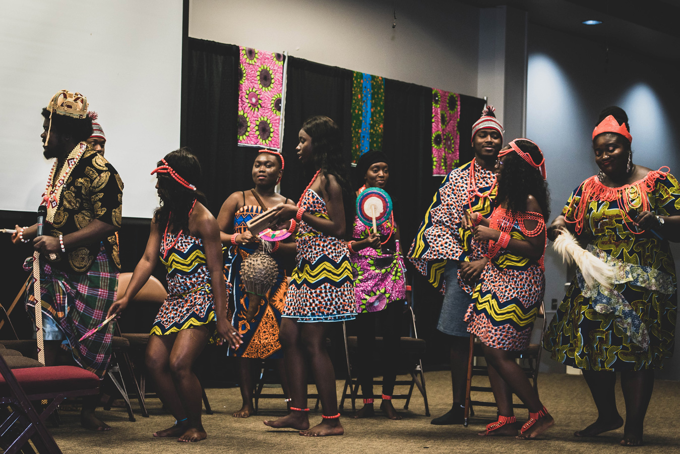 Performers at the African MegaFest